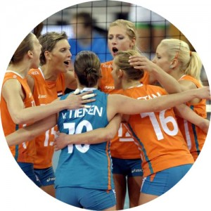 Nederlands dames volleybal team